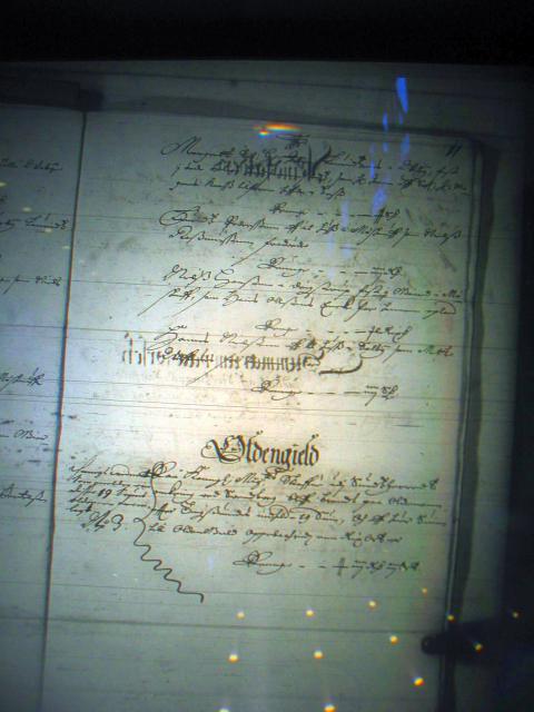 Fæste register Nyborg len 1658-61  Hindsholm (2) og oldengæld