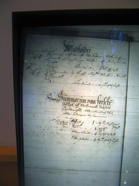 Nyborg len 1658-61  Vindfælder