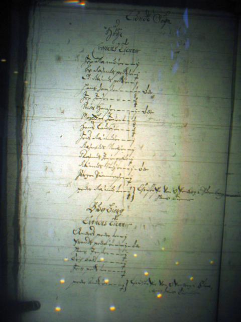 Mandtal Lunde m.fl. sogne 1658