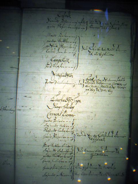 Mandtal Lunde og Kirkeby sogne 1658