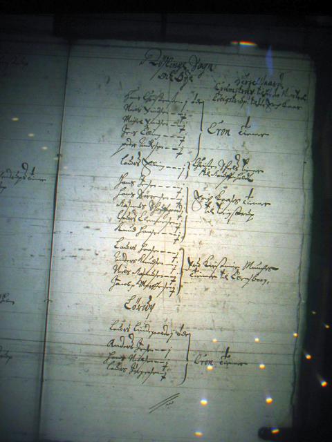 Mandtal Ryslinge og Ringe sogne 1658