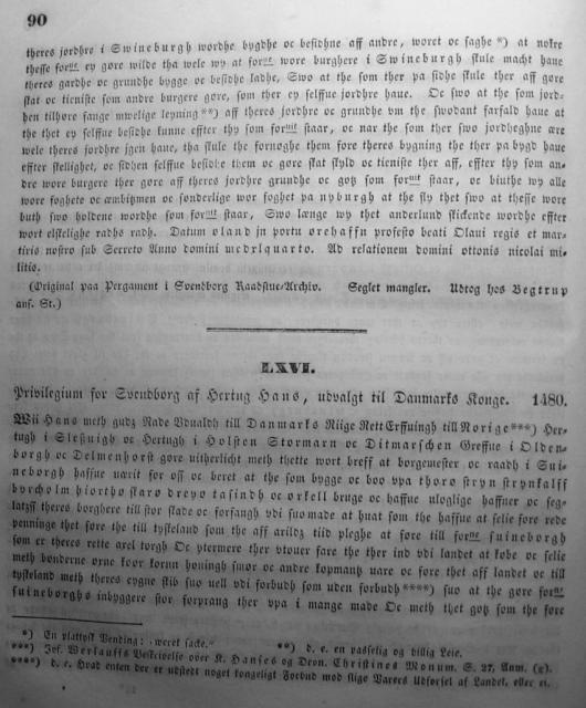 Dokumenter vedr. Svendborg by i almindelighed 1253-1562 (05)