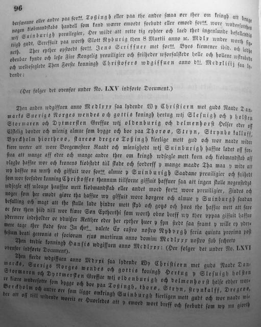 Dokumenter vedr. Svendborg by i almindelighed 1253-1562 (11)