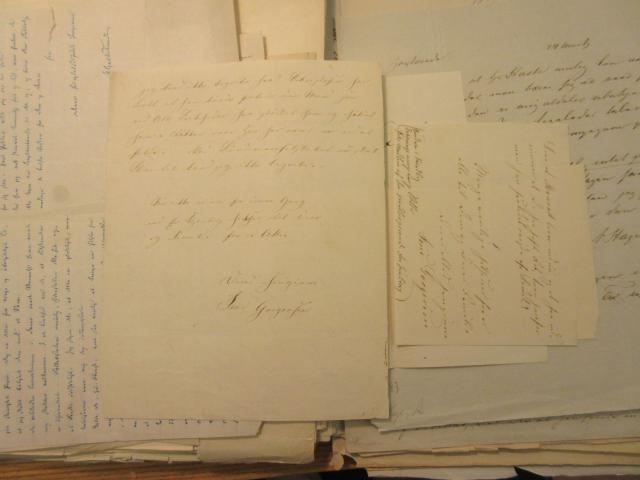 Brev 14.4. 1854 fra Jens Gregersen til A.F. Tscherning (2)