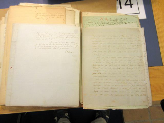 Brev 1851 fra politikeren J.R. Jacobsen om etablering af brændevins brænderi i Troense