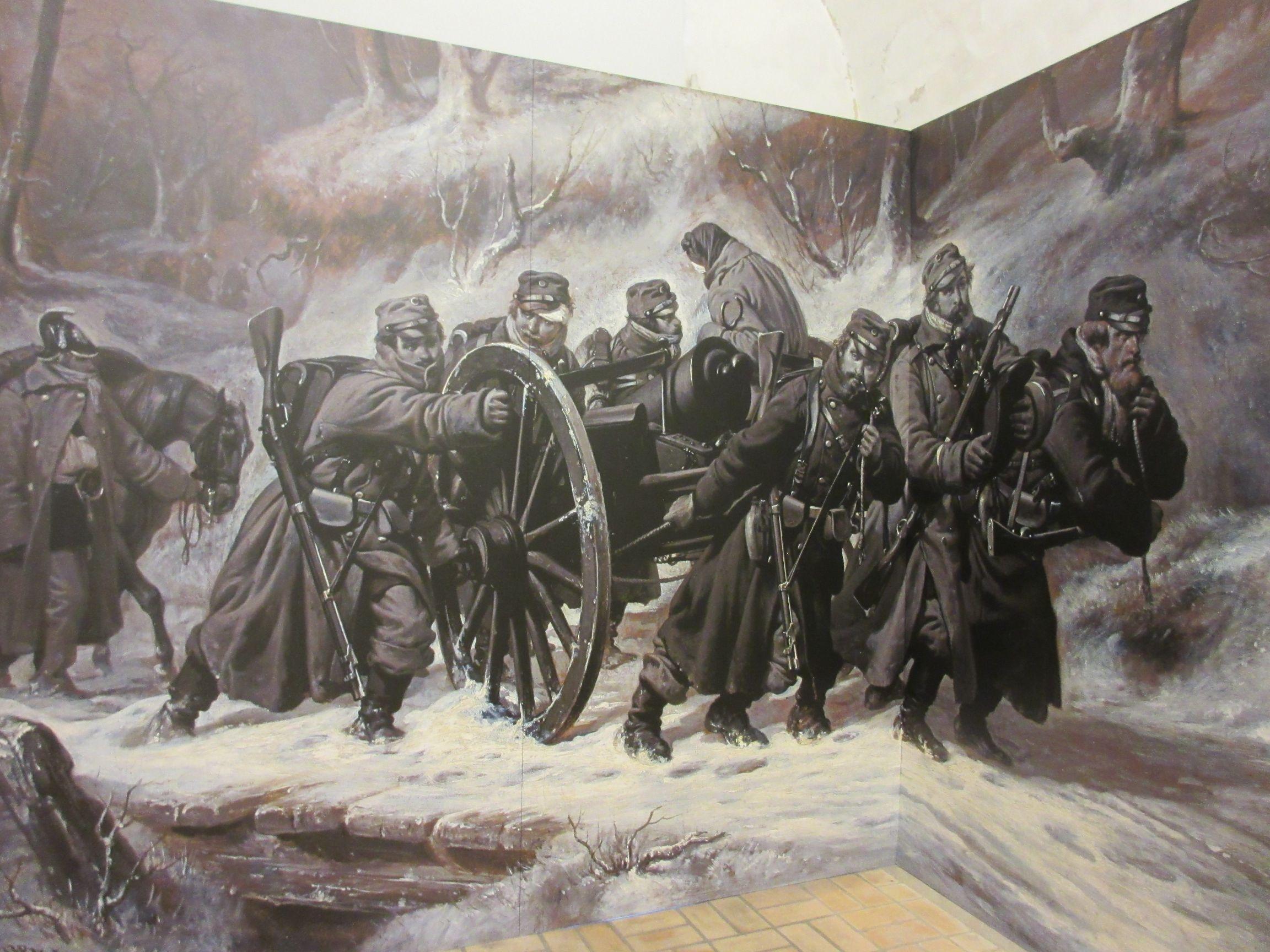 Dannevirke rømmes 1864