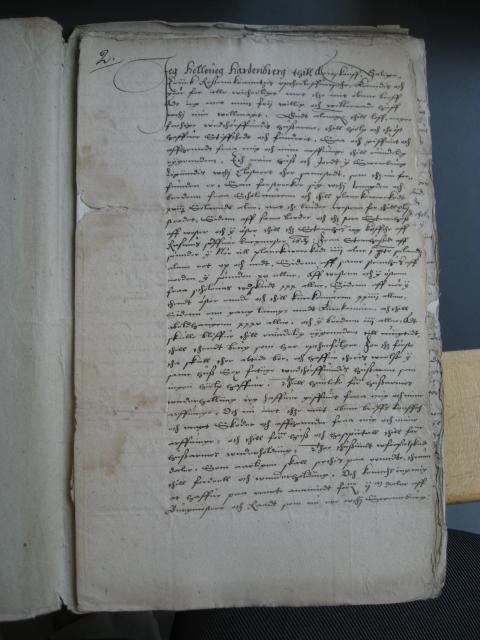 Fundats for Svendborg Hospital 1586
