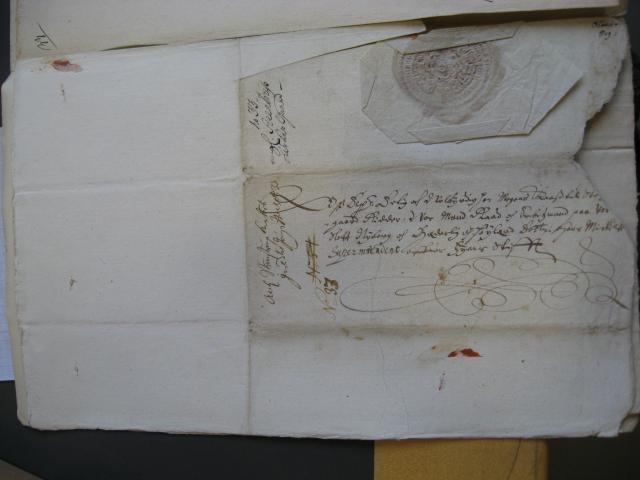 Kong Christian IV's brev 21.10. 1633 (2) til lensmand Mogens Kaas og biskop Hans Mikkelsen