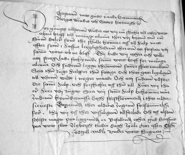 Kongebrev 27. decbr. 1551