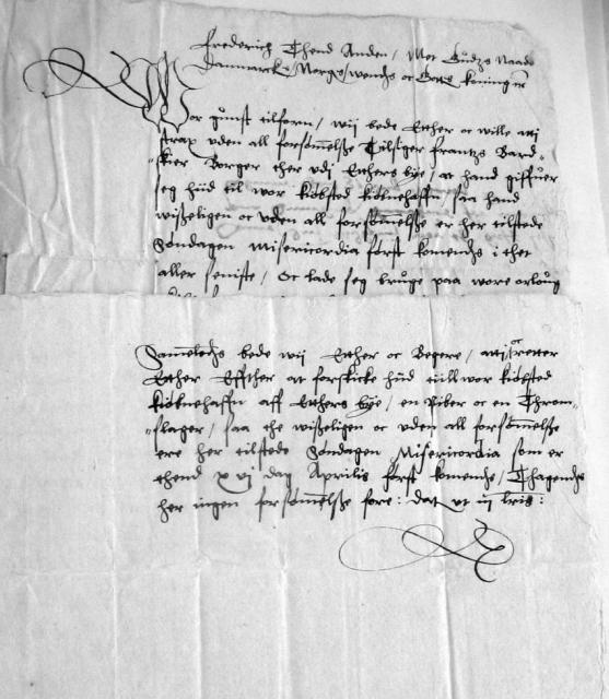 Kongebrev 24. marts 1564
