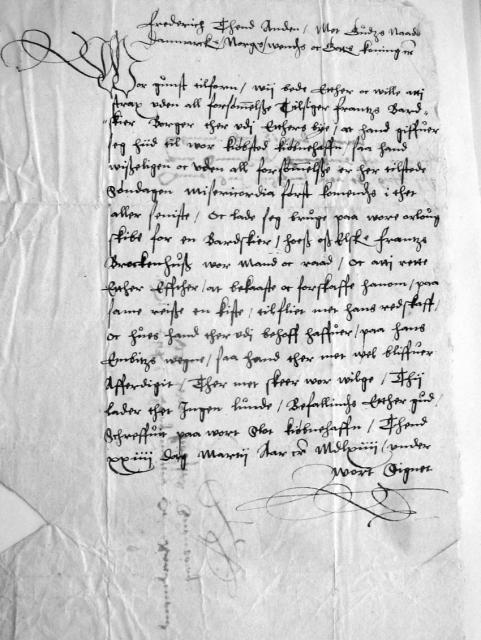 Kongebrev 24. marts 1564 (2)