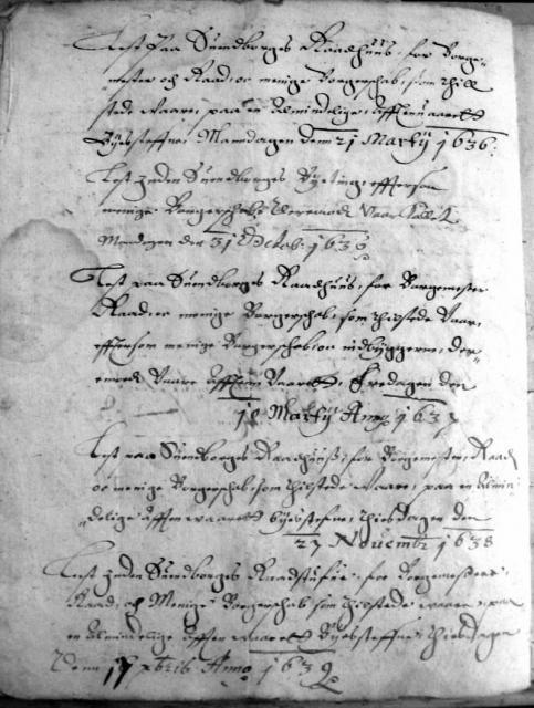 Svendborg bylov 1619 -(25)