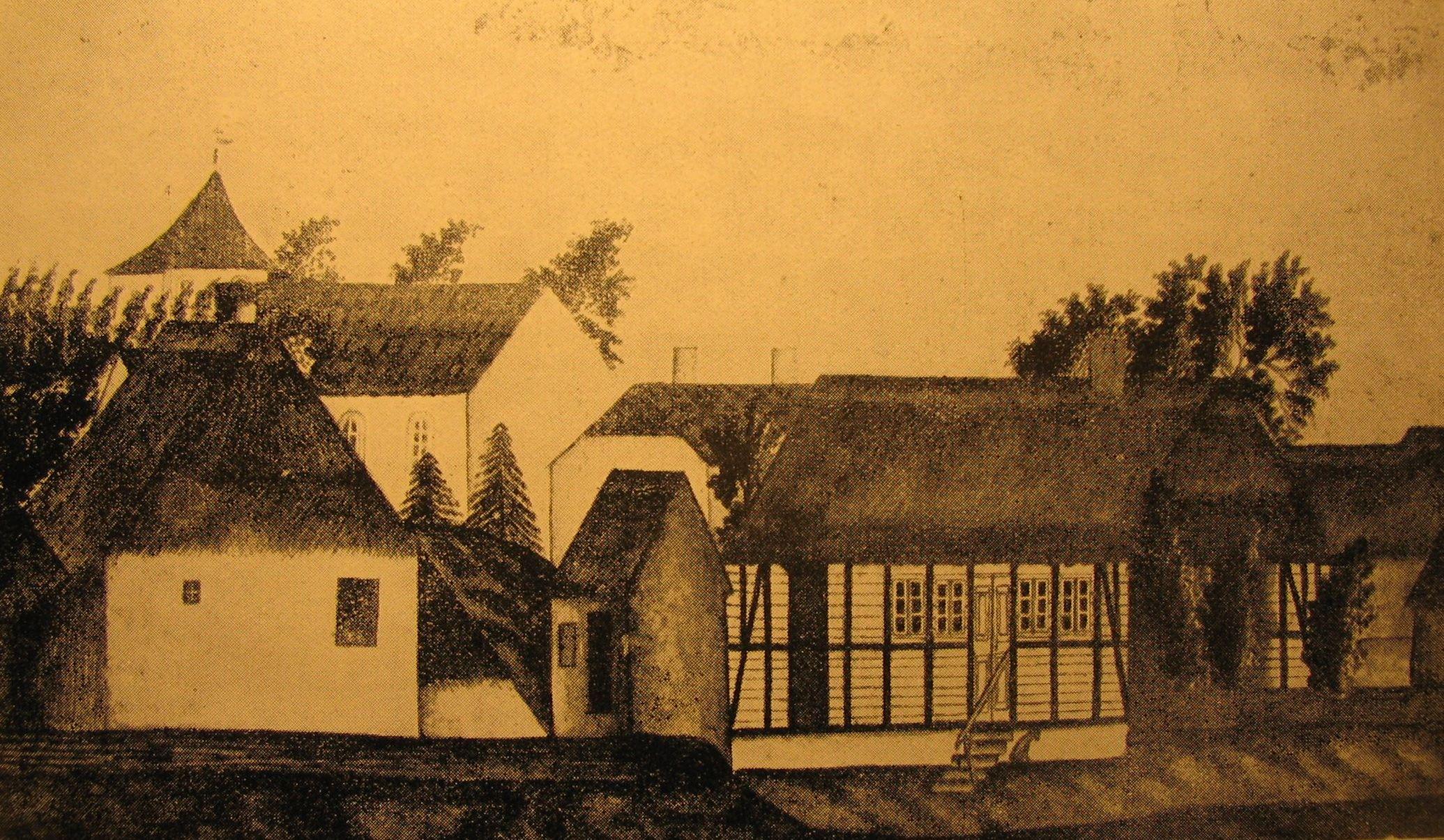 Skårup præstegård 1803