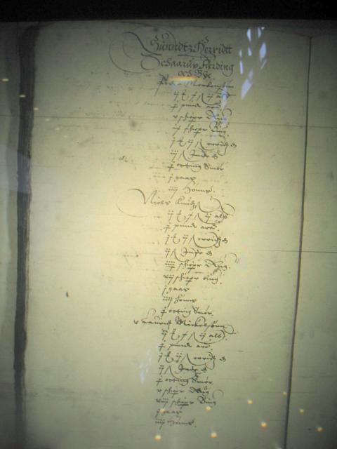 Jordegne bønder i Sunds herred 1615