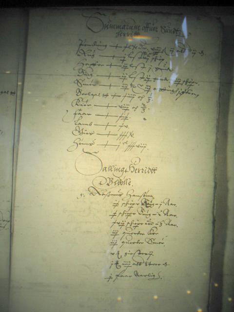 Jordegne bønder i Sallinge herred og kronbønder i Nyborg len 1615