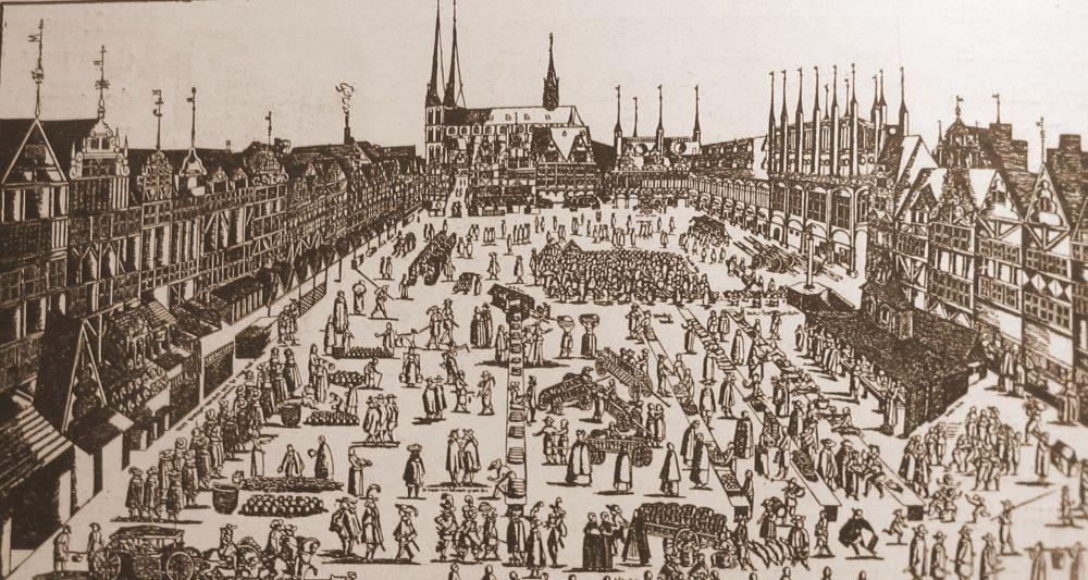 Markedspladsen i Lybæk - Svendborg købstads vigtigste handelspartner i middelalderen