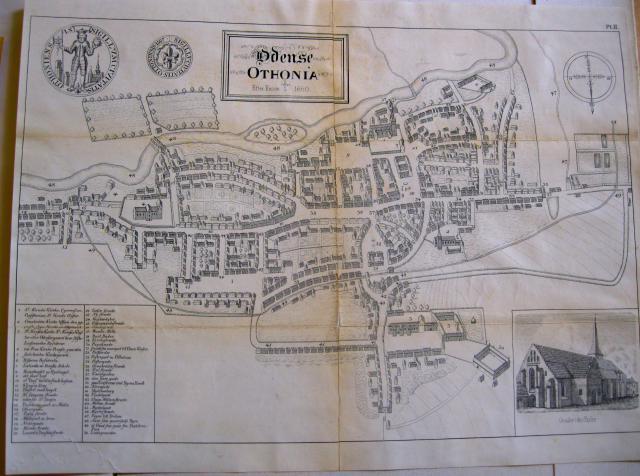 Odense - efter Resen 1660