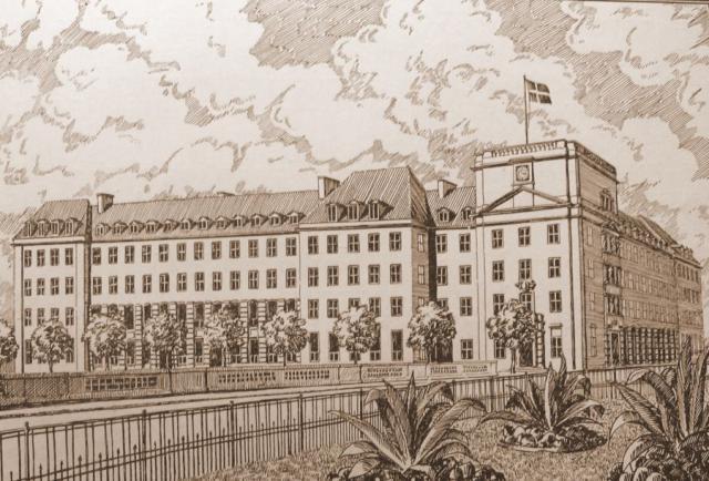 Teknologisk Instituts nybygning indviet 1917