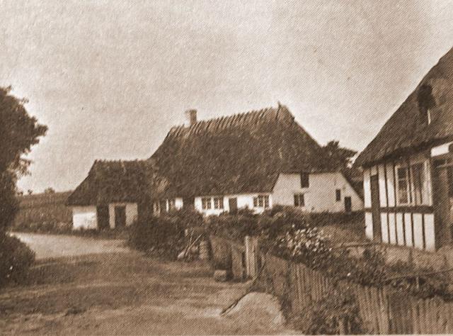 Familehus i Nordgade Ollerup