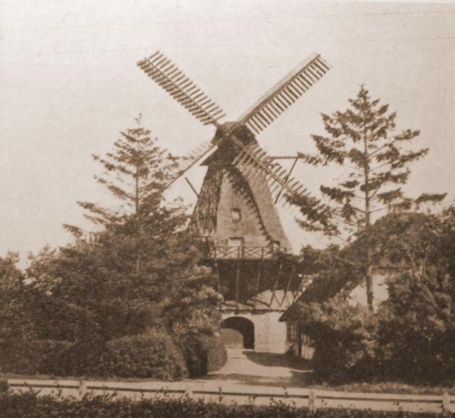 Stråtækt vindmølle, Landet på Tåsinge