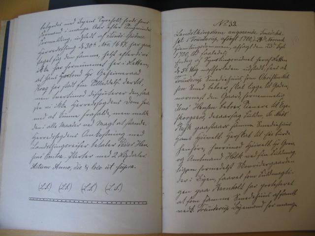 Landstingsdom 23.9. 1700 ang. smedehuset i Trunderup