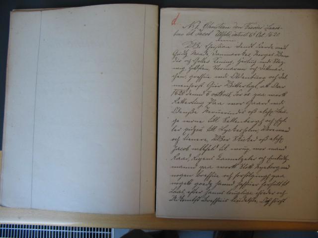 Chr. IVs låsebrev til Jacob Ulfeld på Egeskov 1620