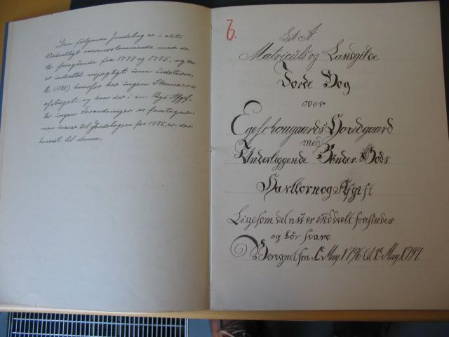 Jordebog 1796-97 Egeskov