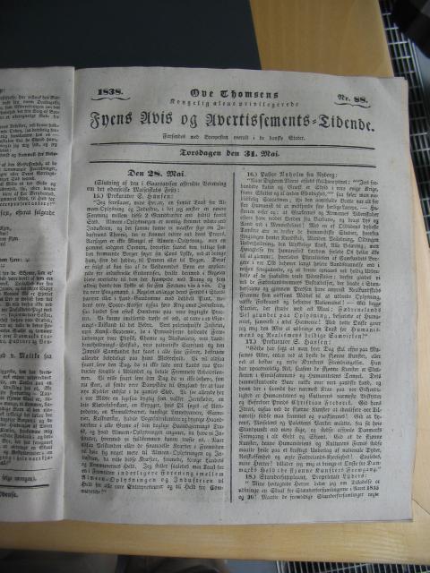 Fyens Avis 31. maj 1838