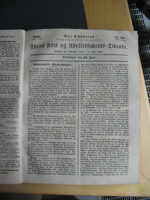 Fyens Avis 12. juni 1838