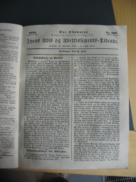 Fyens Avis - 6. juli 1838