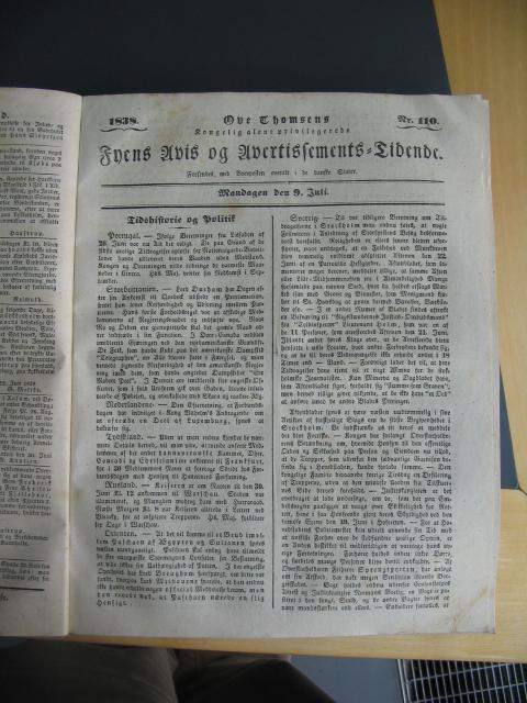 Fyens Avis - 9. juli 1838