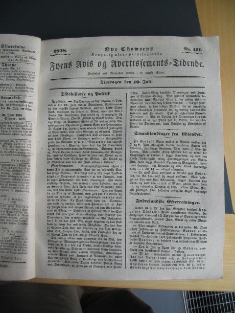 Fyens Avis - 10. juli 1838
