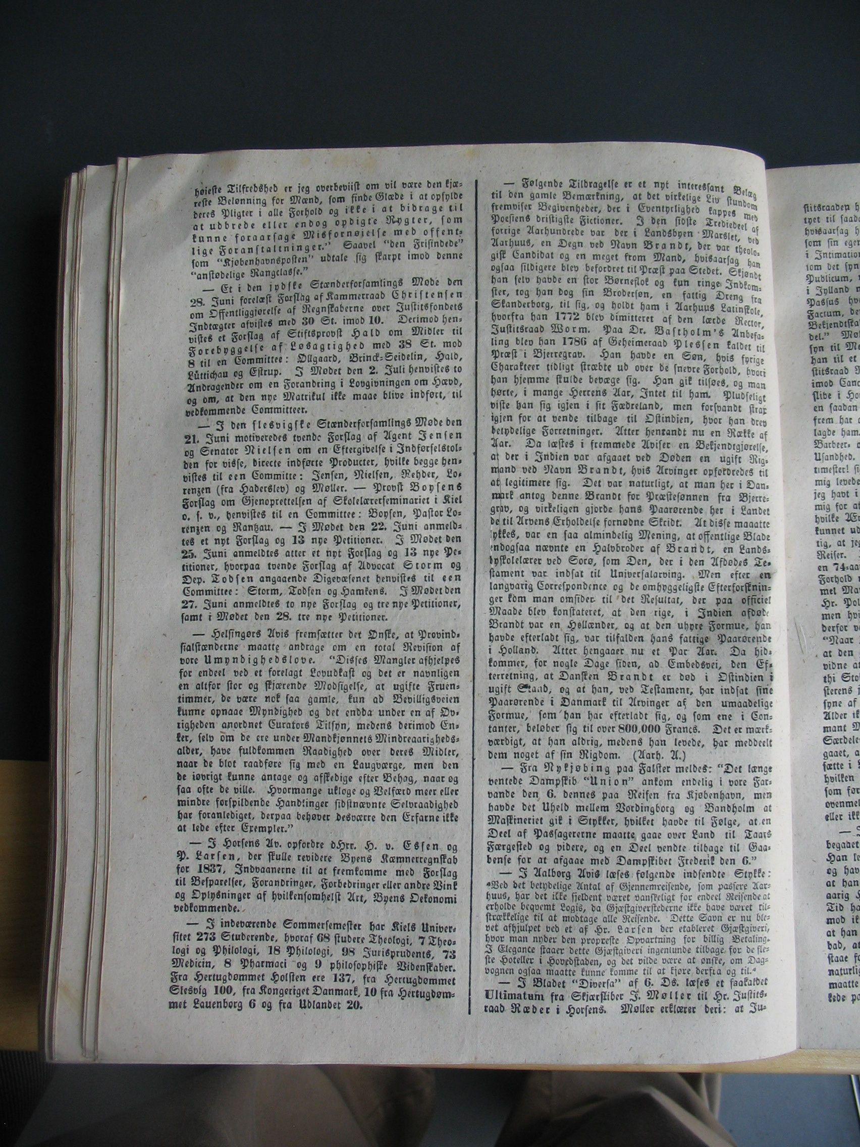 Fyens Avis - 12. juli 1838 (2)