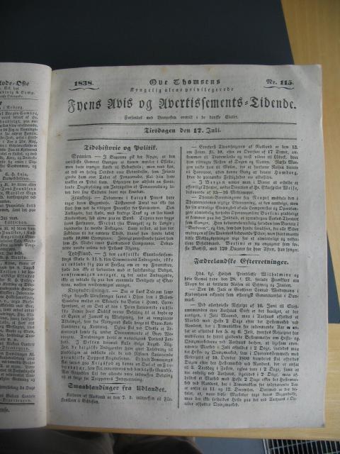 Fyens Avis - 17. juli 1838