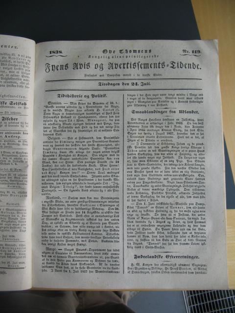 Fyens Avis - 24. juli 1838