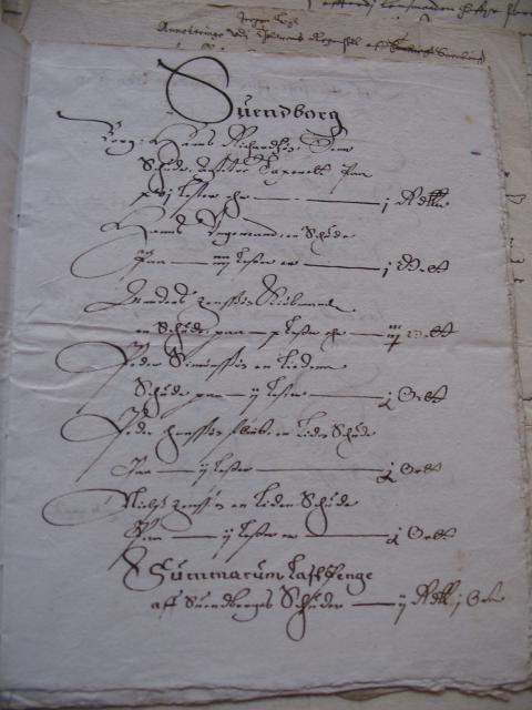 Skibe i Svendborg 1632