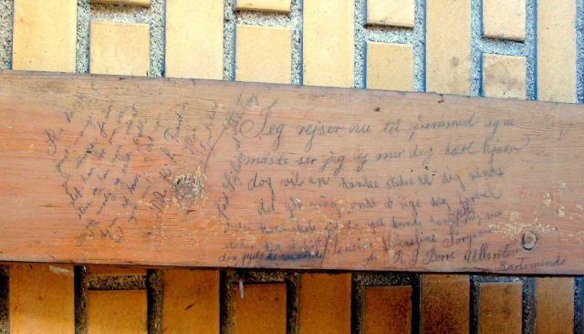 Højskole grafitti