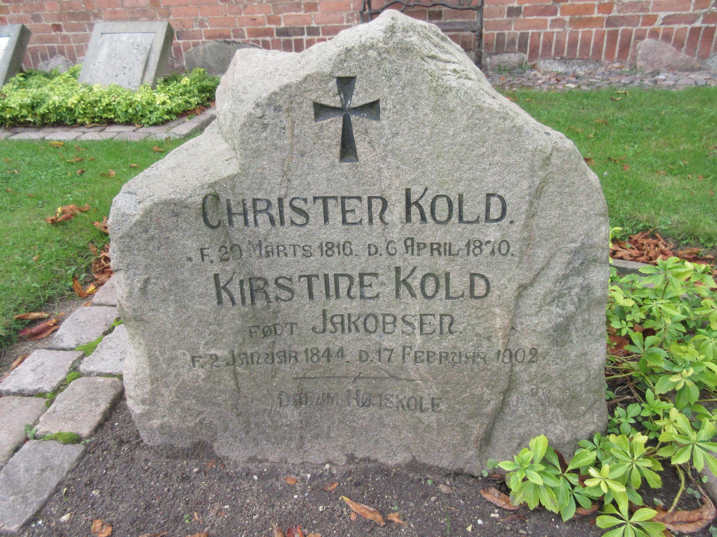 Skolemanden Christen Kold
