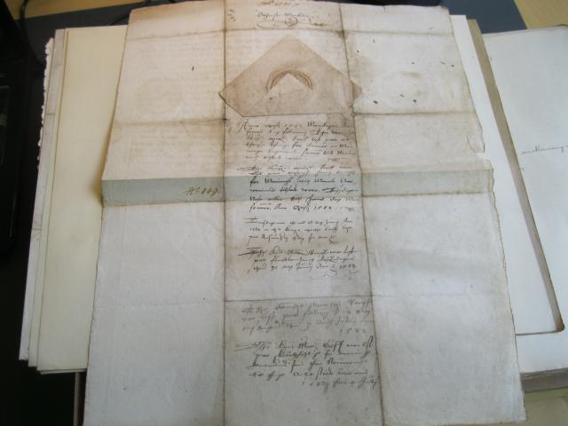 Kong Frederik II's åbne brev 1581 (2) om markeder i Odense
