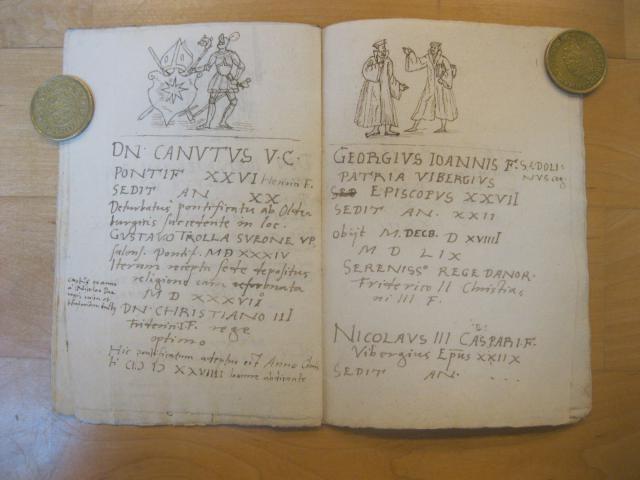 Hamsforts bispekrønike - den sidste katolske biskop og de to første lutherske biskopper på Fyn