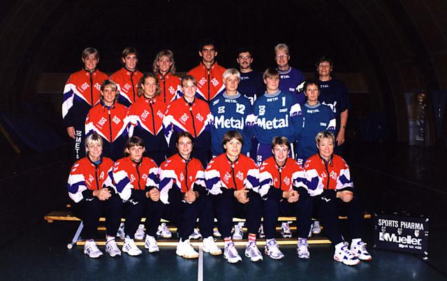 De danske jernladies i Ollerup 1995