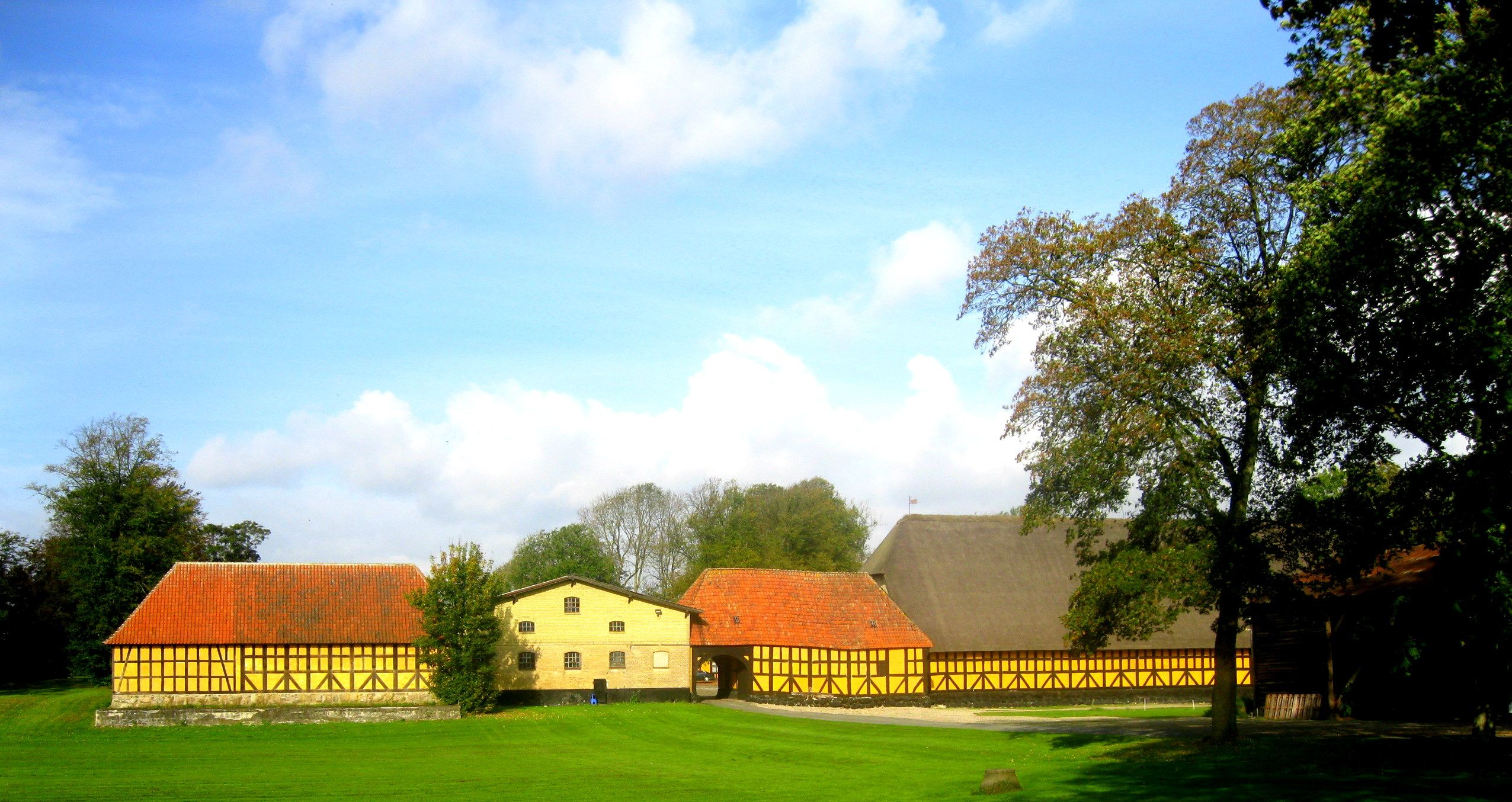 Lundegård i Nr. Broby - laden opf. 1636 af Ellen Marsvin