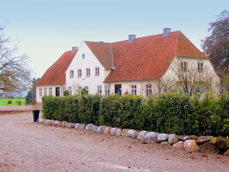 Lundegårds stuehus fra 1857 - Lunde sogn