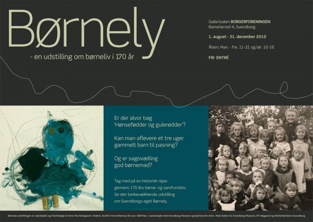 En udstilling om børneliv i 170 år
