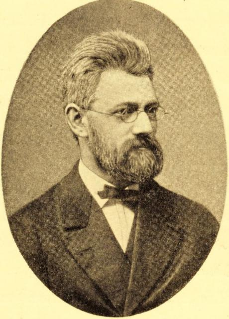 Professor, minister William Scharling (1837-1911)