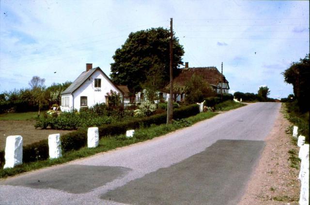 Kirkevej i Kirkeby m. Åbo og Pilehuset