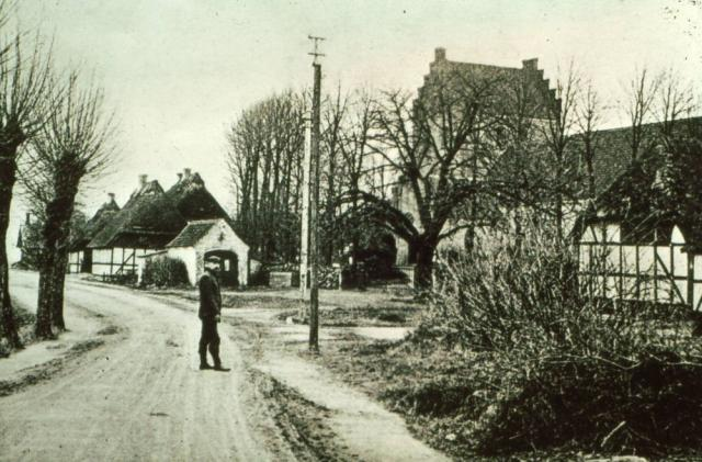 Ollerup m. Stensero, kirke og gl. præstegård