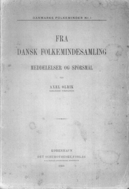 Fra Dansk Folkeminde samling