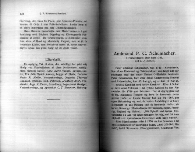 Amtmand P.C. Schumacher (+1817)