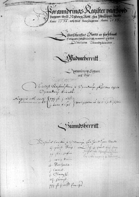 Kirkeby Len 1598
